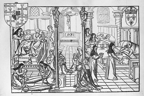 Comment s'étend une pandémie. Chronique de la peste noire de 1348.